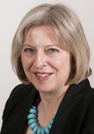 Picture of quotation author Theresa May