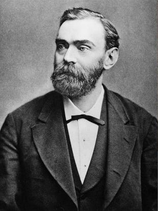 Picture of quotation author Alfred Nobel