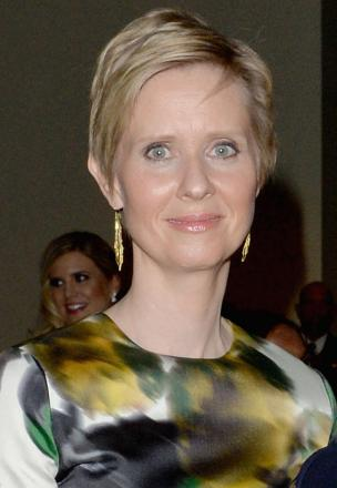 Picture of quotation author Cynthia Nixon
