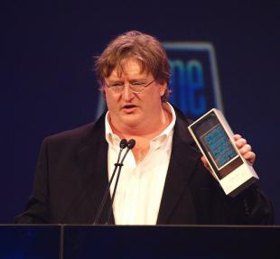 Picture of quotation author Gabe Newell