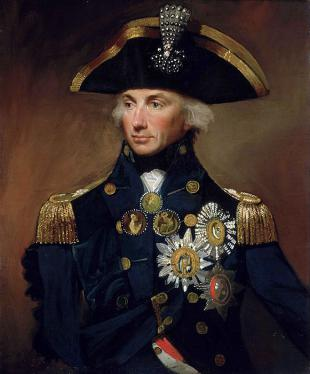 Picture of quotation author Horatio Nelson