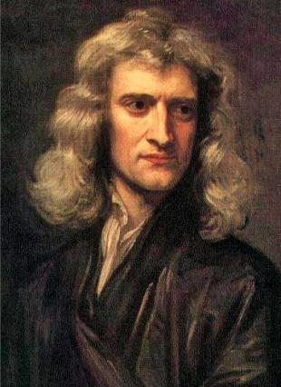Picture of quotation author Isaac Newton
