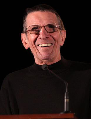 Picture of quotation author Leonard Nimoy