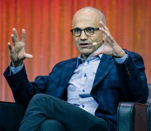Picture of quotation author Satya Nadella