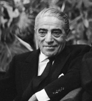 Picture of quotation author Aristotle Onassis