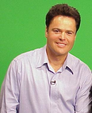 Picture of quotation author Donny Osmond