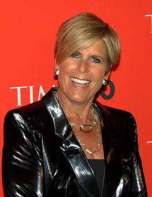 Picture of quotation author Suze Orman