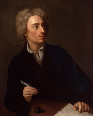 Picture of quotation author Alexander Pope