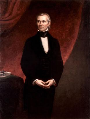 Picture of quotation author James K. Polk