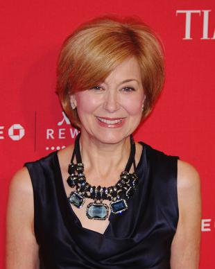 Picture of quotation author Jane Pauley