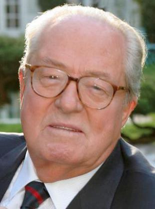 Picture of quotation author Jean-Marie Le Pen