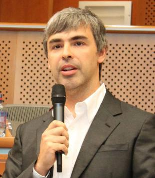 Picture of quotation author Larry Page