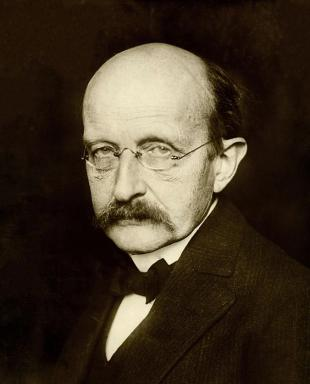 Picture of quotation author Max Planck