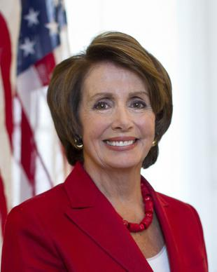 Picture of quotation author Nancy Pelosi