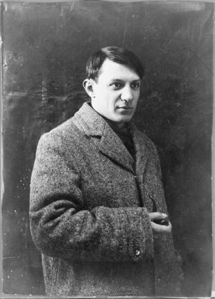 Picture of quotation author Pablo Picasso