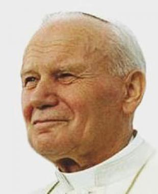 Picture of quotation author Pope John Paul II