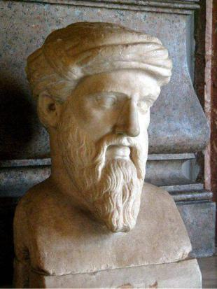 Picture of quotation author Pythagoras