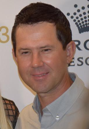 Picture of quotation author Ricky Ponting