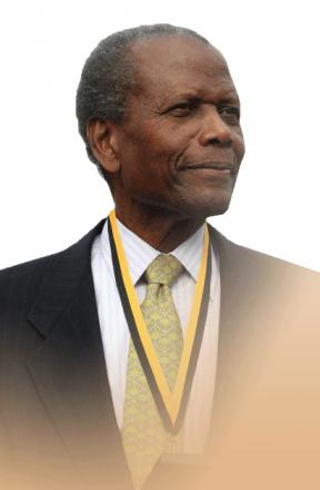 Picture of quotation author Sidney Poitier