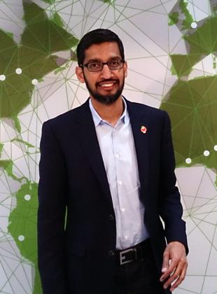 Picture of quotation author Sundar Pichai