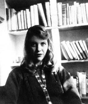 Picture of quotation author Sylvia Plath