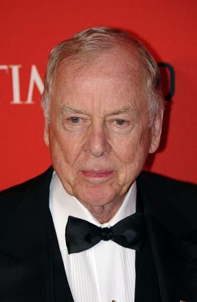 Picture of quotation author T. Boone Pickens