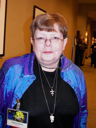 Picture of quotation author Tamora Pierce