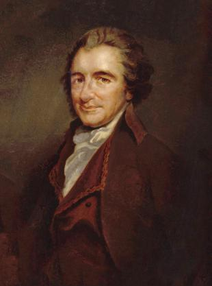 Picture of quotation author Thomas Paine