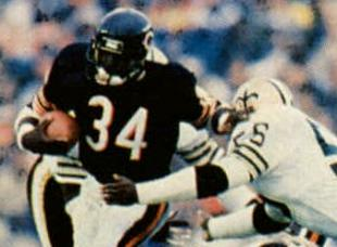 Picture of quotation author Walter Payton
