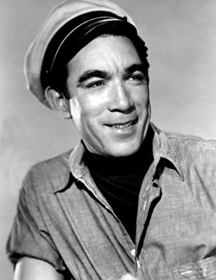 Picture of quotation author Anthony Quinn