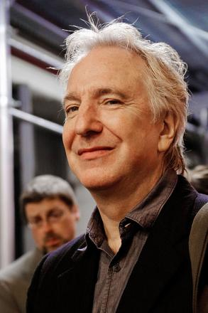Picture of quotation author Alan Rickman