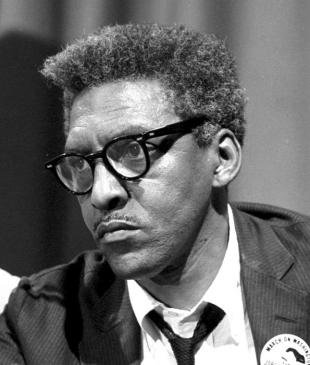 Picture of quotation author Bayard Rustin