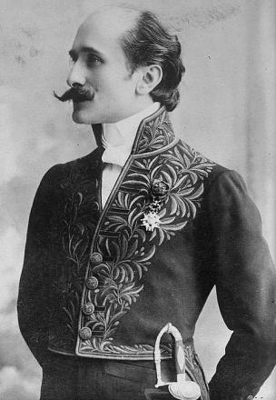 Picture of quotation author Edmond Rostand