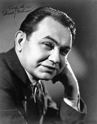 Picture of quotation author Edward G. Robinson
