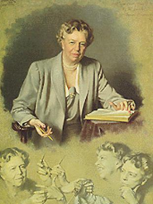 Picture of quotation author Eleanor Roosevelt