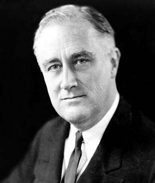 Picture of quotation author Franklin D. Roosevelt