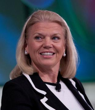 Picture of quotation author Ginni Rometty