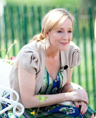 Picture of quotation author J. K. Rowling