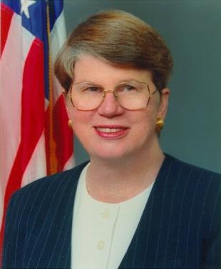 Picture of quotation author Janet Reno