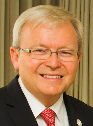 Picture of quotation author Kevin Rudd