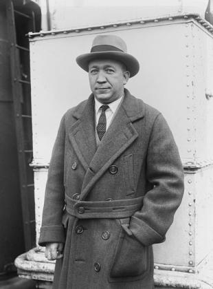 Picture of quotation author Knute Rockne
