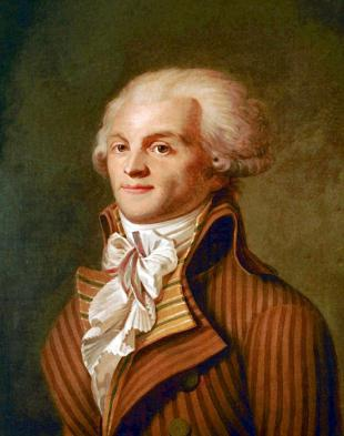 Picture of quotation author Maximilien Robespierre