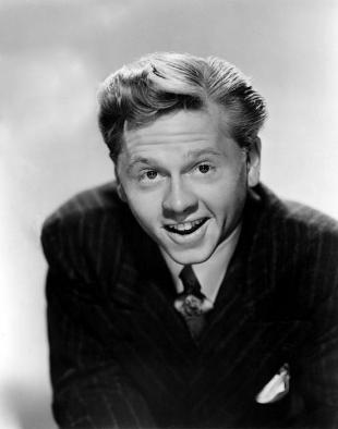 Picture of quotation author Mickey Rooney
