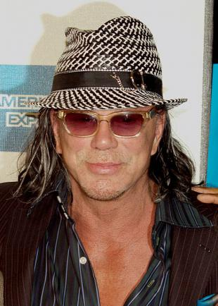 Picture of quotation author Mickey Rourke