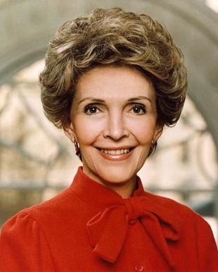 Picture of quotation author Nancy Reagan