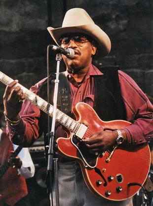 Picture of quotation author Otis Rush