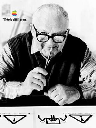 Picture of quotation author Paul Rand