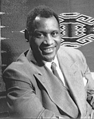 Picture of quotation author Paul Robeson