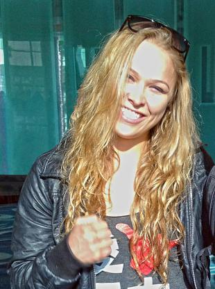 Picture of quotation author Ronda Rousey