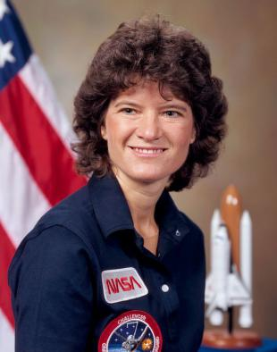 Picture of quotation author Sally Ride